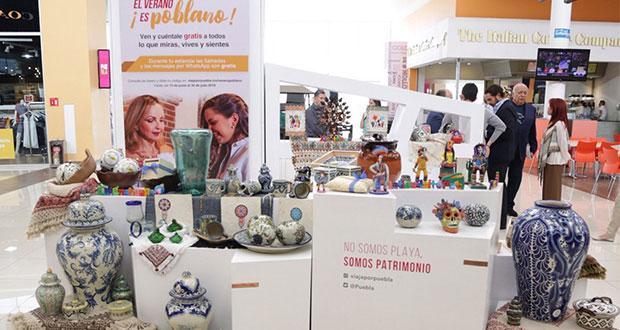 Secretaría de Cultura abre punto de venta de artesanías en Outlet