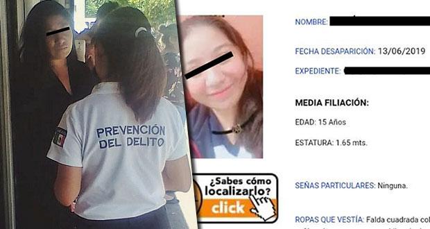 Ssptm ubica en colonia Bugambilias a menor extraviada en Querétaro