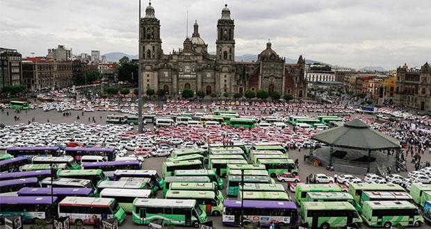 Taxistas y Segob acuerdan diálogo tras protesta que desquició a CDMX