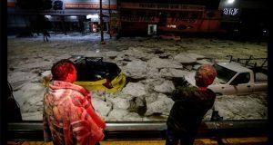 Tormenta histórica cubre Guadalajara con hasta un metro de granizo