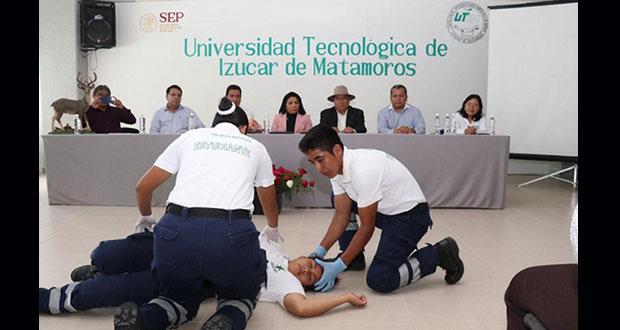 UTIM y SSE firman convenio para formar paramédicos
