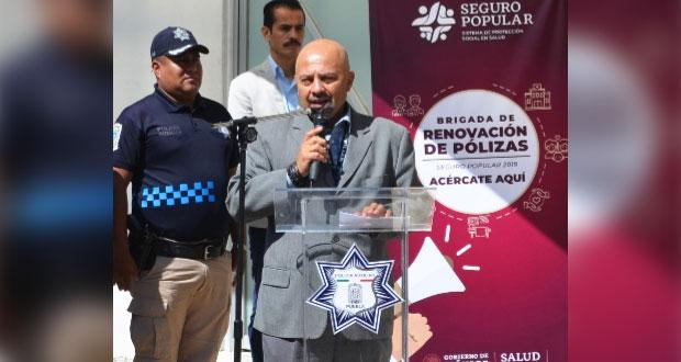 Inicia afiliación al Seguro Popular de 652 policías auxiliares