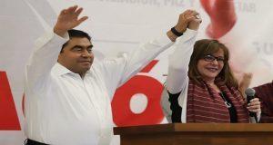 Con diferencia de 11 puntos sobre Cárdenas, Barbosa gana elección: INE