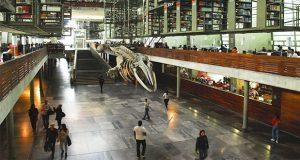 Reabren biblioteca Vasconcelos, pero sigue protesta del SNTC