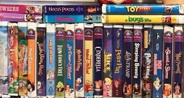 ¿Tienes cintas de Disney en VHS? Puedes ganar miles de dólares