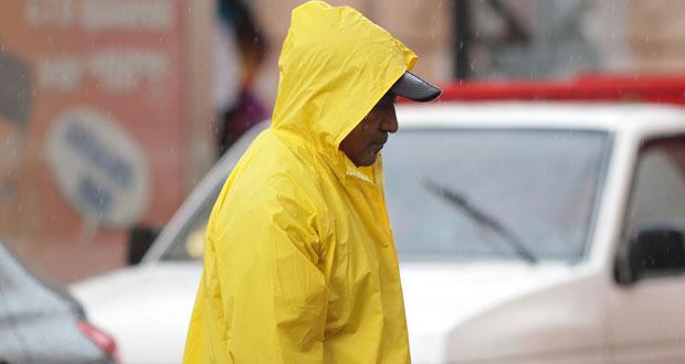 Prevalecerá clima lluviosos en Puebla, pronostica PC