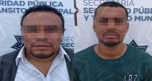 En Puebla capital, detiene a dos y un menor por diversos delitos