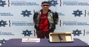 """Detienen a posible miembro de """"Los Polos"""" en San Jerónimo Caleras"""