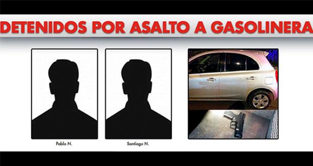 Caen 2 por asalto a gasolinera en Granjas San Isidro