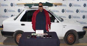 """Cae en Puebla capital """"El Gordo"""", distribuidor de mercancía robada"""