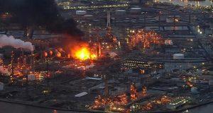 Incendio provoca varias explosiones en refinería de Filadelfia