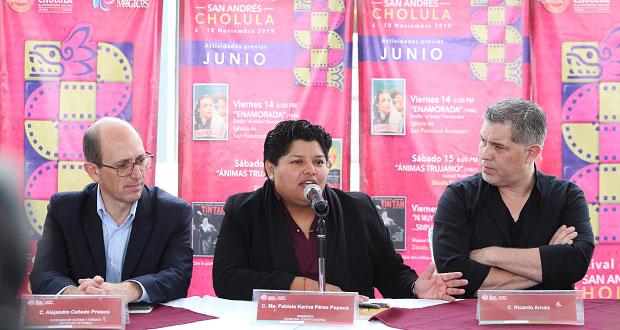 Del 6 al 10 de noviembre, Festival de Cine de San Andrés Cholula