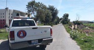 Cierran fuga de gas LP en San Felipe Tenextepec, informa PC