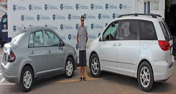 Aprehenden a probable ladrón de vehículos en Santa Cruz Buenavista