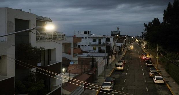 Cambian luminarias en Las Hadas y dos colonias vecinas. Foto: Especial