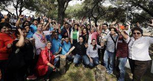 Comuna de Puebla y vecinos dan mantenimiento a parque de Clavijero
