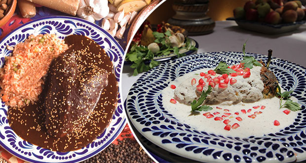 Algunas curiosidades del mole poblano y los chiles en nogada