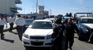 SIMT retira 80 unidades irregulares, entre rutas y taxis, en Puebla