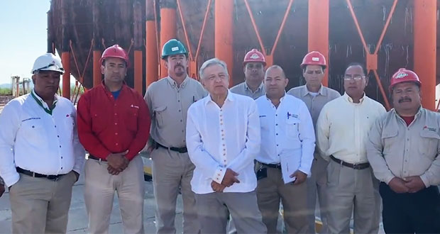 Rehabilitaremos petroquímica de Camargo en un máximo de 4 años: AMLO