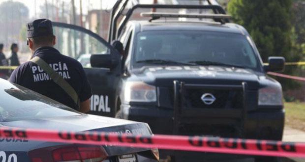 Muere policía en enfrentamiento en Huaquechula; van 12 uniformados asesinados