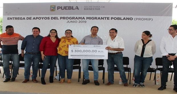 Gobierno estatal reactiva Programa de Apoyo a Migrantes Poblanos