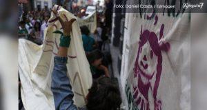 Piden en Puebla aborto gratuito y elevar penas de lesiones con razón de género