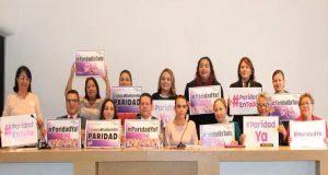 Red Plural presenta iniciativa para garantizar paridad de género en Puebla