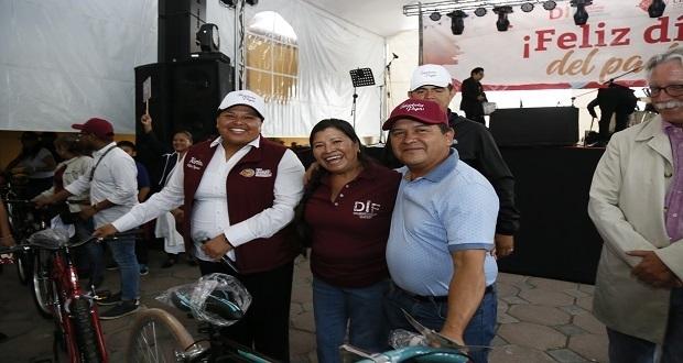 Comuna de San Andrés celebra el Día del Padre con magno evento