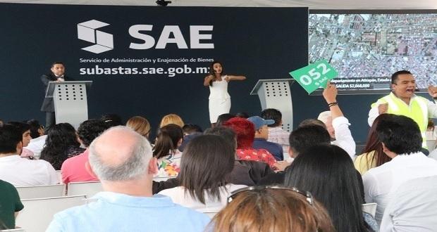 En subasta, SAE solo vende 9 de 27 inmuebles y recauda 56.6 mdp
