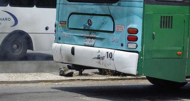 200 unidades de transporte en Puebla necesitan ser renovadas: SIMT