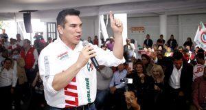 """En Puebla, Moreno advierte que CEN sancionaría a """"traidores"""""""