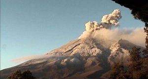 Actividad de Popocatépetl incrementa; registra 4 explosiones: PC