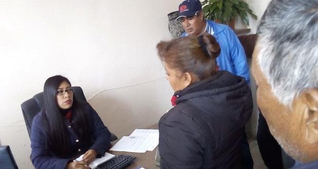 Antorchistas de Acajete acusan que alcalde no los atiende