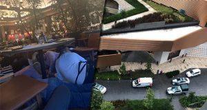 Ataque en plaza Artz de CDMX deja 2 muertos; arrestan a mujer