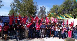 Ayuntamiento de Ixcaquixtla inaugura barda perimetral de primaria