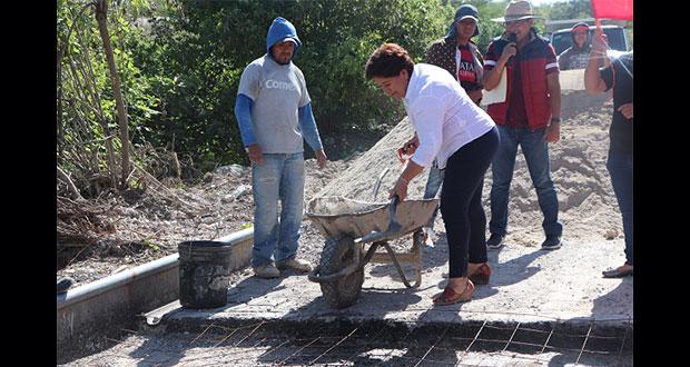 Ayuntamiento de Tepexi de Rodríguez inicia construcción de puente