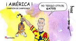 Caricatura: América, el campeonísimo