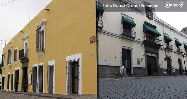 Casa Aguayo y ex Palacio de Gobierno, opciones para oficina de Barbosa