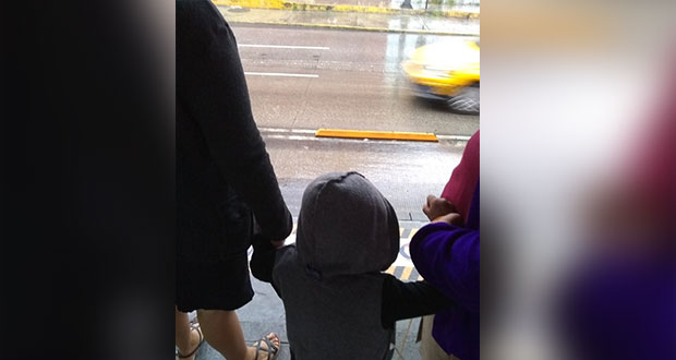 Chofer de RUTA arranca y deja a niño en San Francisco, reportan