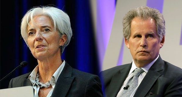 Renuncia Lagarde a presidencia de FMI; Lipton la reemplazará