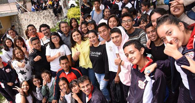 Comuna de Puebla rescata áreas verdes en colonia Adolfo López Mateos