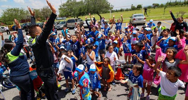 Concluye curso de verano de la Ssptm; participaron más de 150 niños