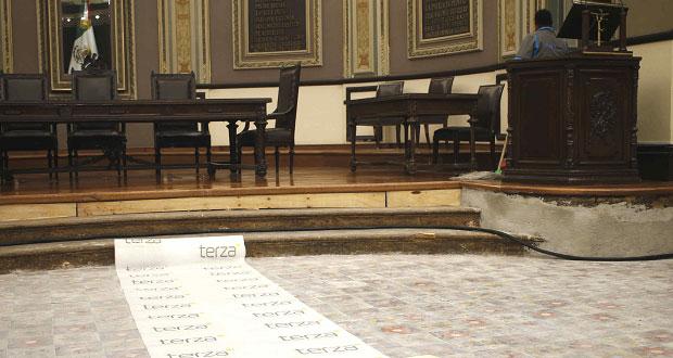 Congreso de Puebla, sin daños graves; no tendría que cambiar sede: INAH