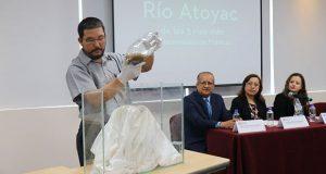 Contaminación de Atoyac supera 8 veces estándar de Conagua: experta