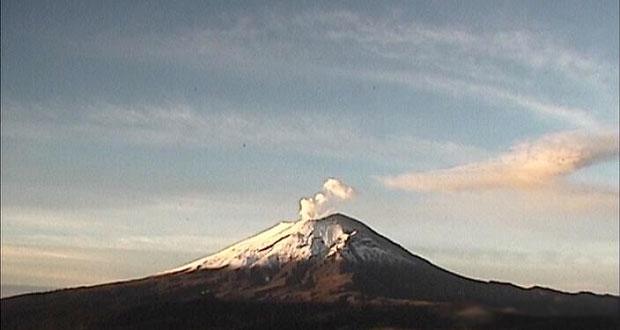Continúa monitoreo permanente del Popocatépetl: PC