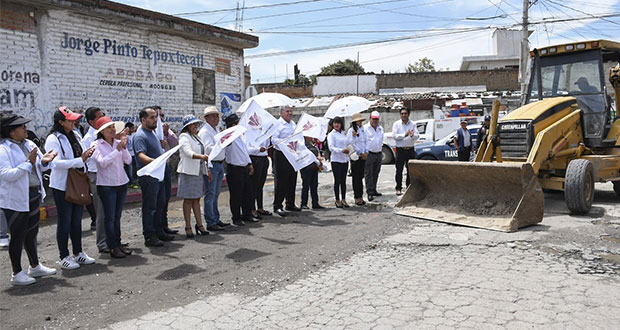Cuautlancingo invierte 9.6 mdp para rehabilitar 3 vialidades