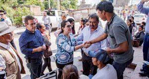 DIF municipal brinda apoyos a cinco familias afectadas en Chautla