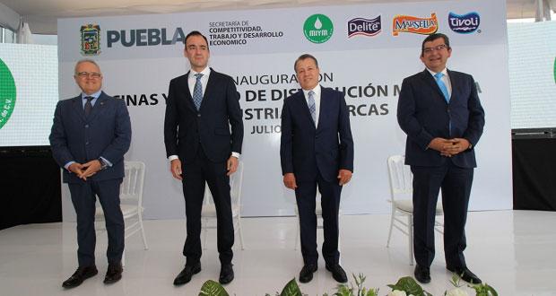 Empresa de envasado de lácteos invertirá en Puebla 120 mdp