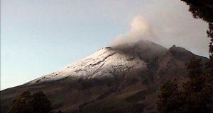 Estable, comportamiento del Popocatépetl, reportan PC y Cenapred