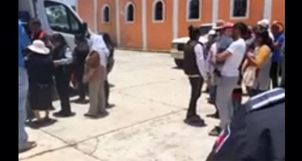 Explotan cohetones en iglesia de Ixtacuixtla; hay dos heridos